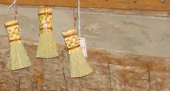 Scrubby Broom Demo for Craft Saturdays