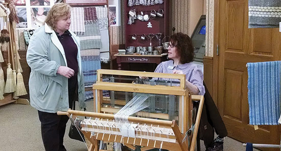 craft saturday weaving