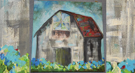 Barn-Painting-on-Canvas