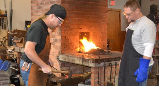 Blacksmithing-class