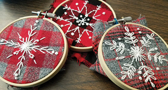 Snowflake-Embroidery-Ornaments