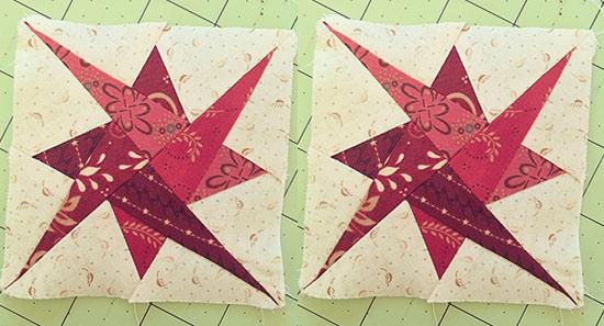 Swirling Stars Paper Piecing Quilt Class