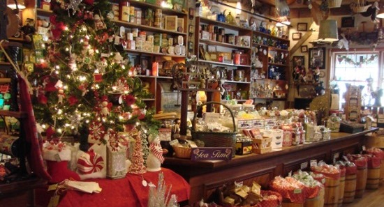 Holiday Lantern Tour Shopping Event General Store