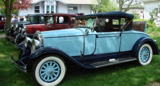 antique car gathering