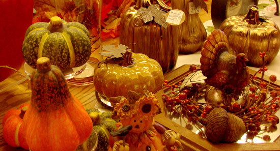 Fall decor at the Gift Shop