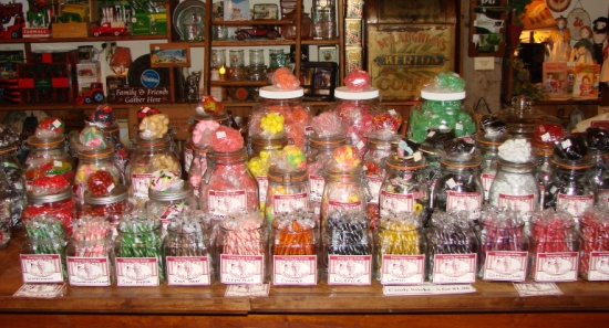 fall sale laubers general store candy