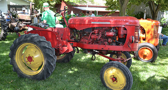 the great planting massey tractor