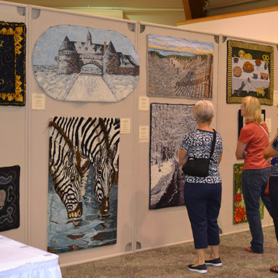 Rug Hooking Week Exhibit