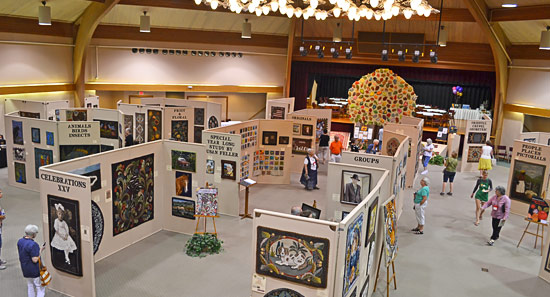 Rug Hooking Week Exhibit in Founder