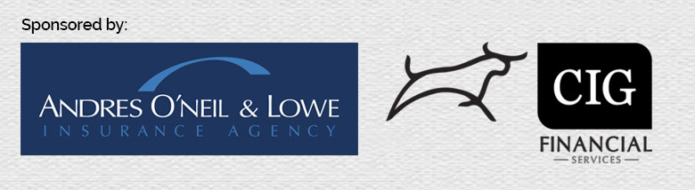 Andres O'Neil and Lowe and CIG Financial logos