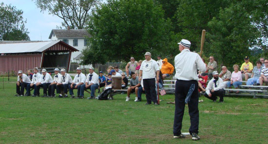 vintage baseball tournament