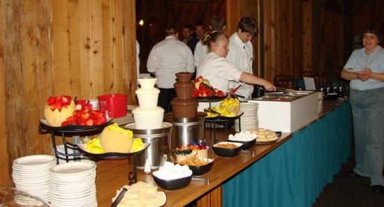 Christmas Brunch Barn Restaurant