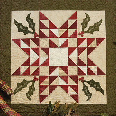 Framed-Holiday-Star-Quilt-400x400