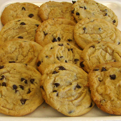 Chocolate Chip Cookies made by the Doughbox Bakery