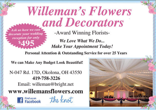 Willeman's Flowers and Decorators