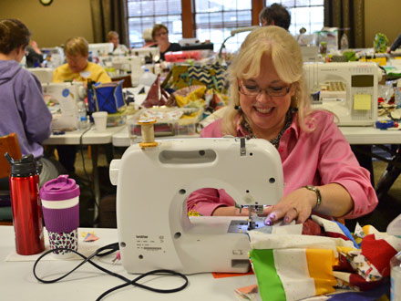 Quilters Retreat - March 2018 : quilting retreat - Adamdwight.com