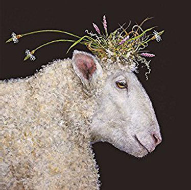 Anne-Bond-ewe-with-flowers2