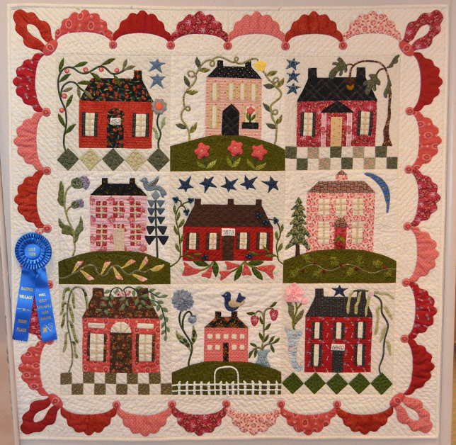 Wall_Quilt_Applique_Hand_Quilted
