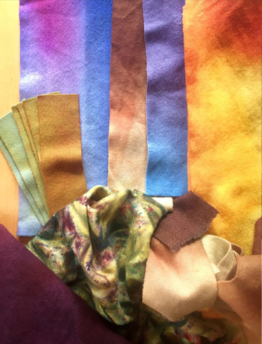 dyed-fabric-Sandra-Brown
