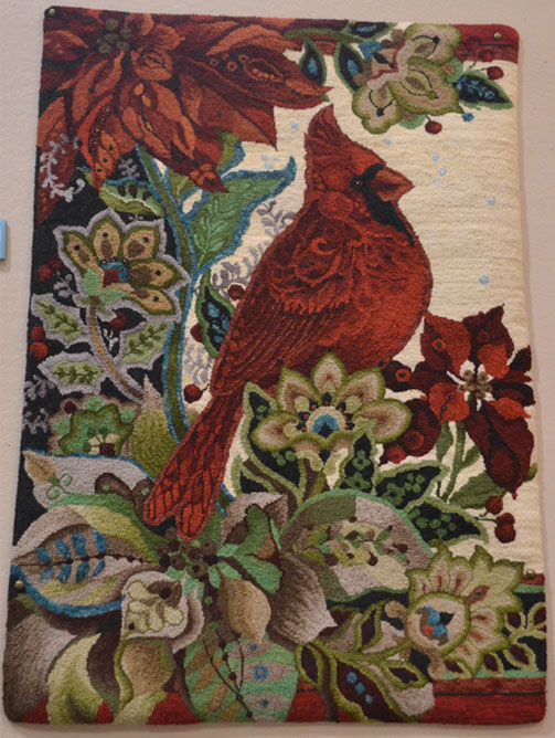 Animals-Birds-Insects-Rug-Award-Winter-Roost-Tricia-Miller
