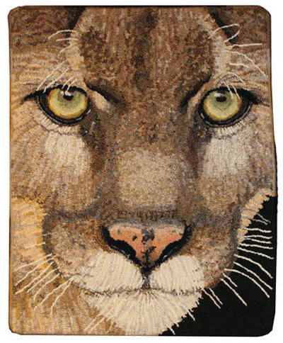 lion-face-hooked-rug
