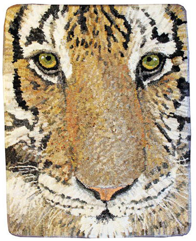 tiger-face-hooked-rug