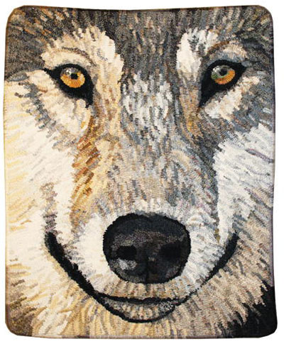 wolf-face-hooked-rug