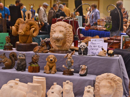 Woodcarvers Show Sale