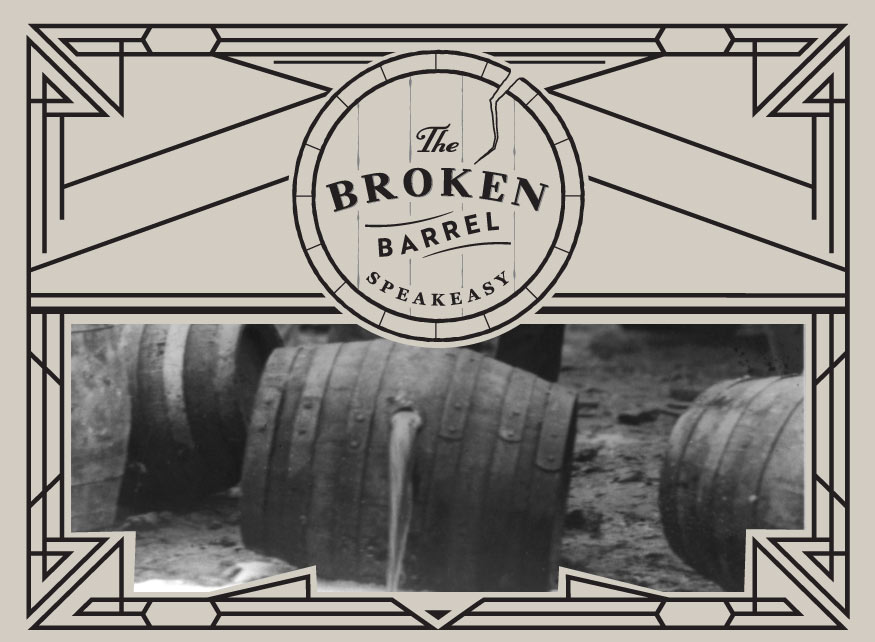 Broken Barrel Speakeasy header