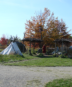 Wigwams Native American Village
