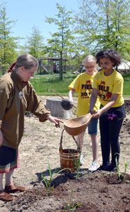 Native American Planting activity