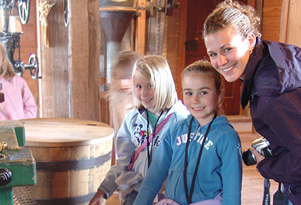 Homeschool Visit Grist Mill