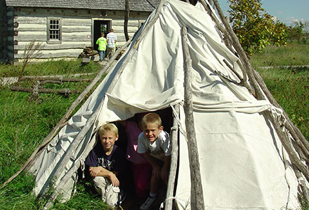 Student Wigwam Native American Village