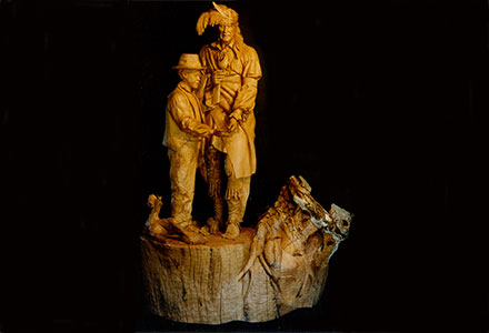 Woodcarving Council Oak