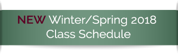 New Winter Spring 2018 class schedule