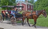 Horse-and-buggy-Pioneer-Settlement