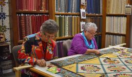 Volunteers-quilting