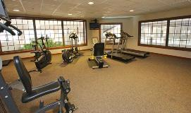 Fitness room amenity in Sauder Heritage Inn