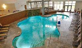 Swimming pool available at Sauder Village's hotel