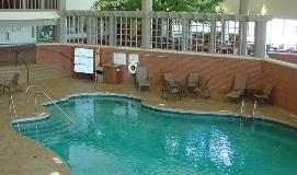 Indoor swimming pool at Sauder Village Heritage Inn